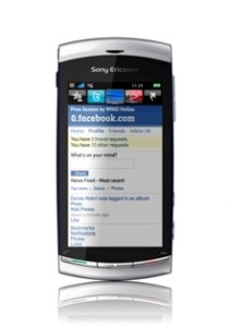 Facebook Zero with Vivaz