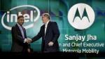Motorola Intel partnership