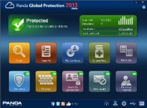 panda global protection 2013