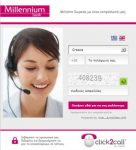Millennium Bank uses Click2Call