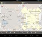 google maps inside