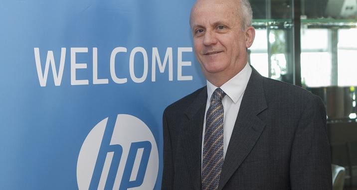 Ο κος Βασίλης Αυζώτης, Διευθύνων Σύμβουλος της HP Hellas