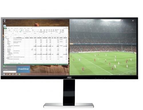 Πανεύκολο multitasking με τις οθόνες της AOC