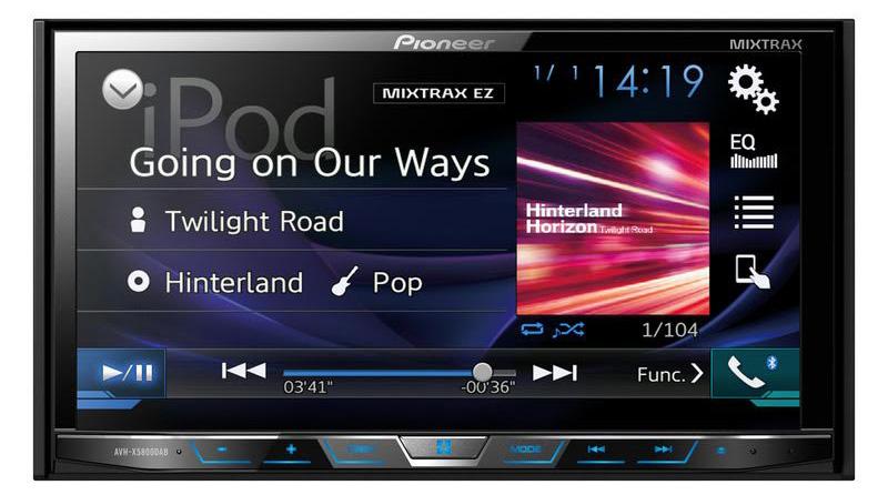 in car pioneer mixtrax