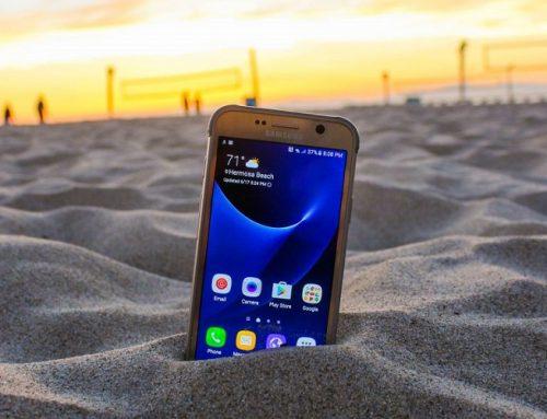 H Samsung πάει… παραλία