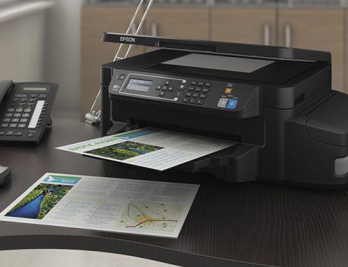 Inkjet εκτυπωτές από την Epson με 3 έτη εγγύησης