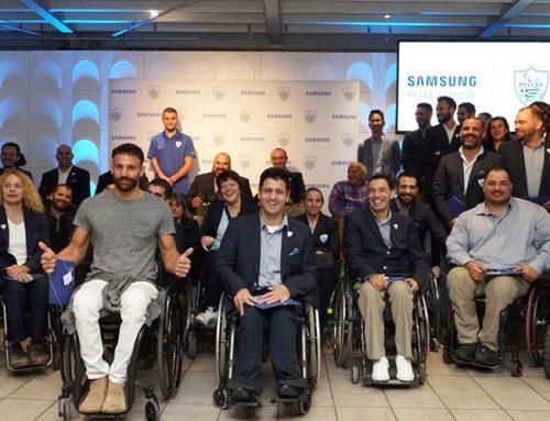 Η Samsung τιμά τους Παραολυμπιονίκες