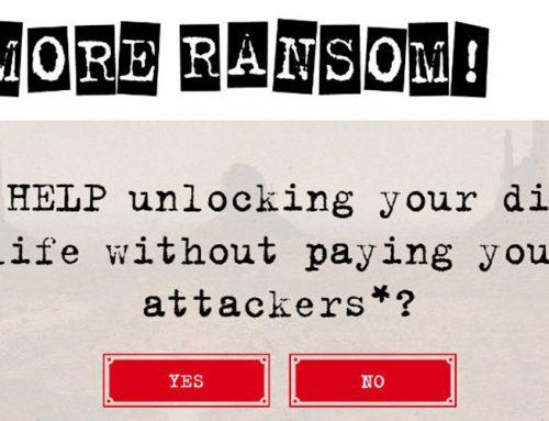 Η πρωτοβουλία «No More Ransom» επεκτείνεται παγκόσμια