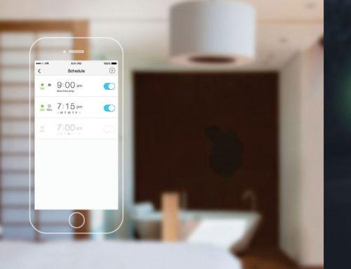 LED WiFi λαμπτήρας με 16 εκατ. χρώματα!