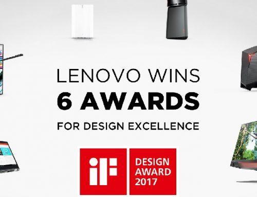 Σάρωσε η Lenovo στα iF Product Design Awards 2017