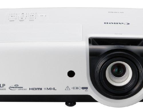 H Canon πρωτοπορεί με τους νέους multimedia προβολείς της