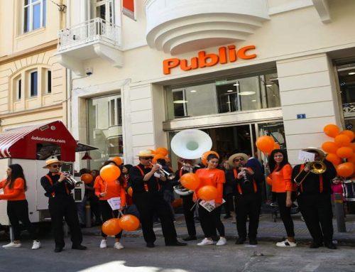 Τα εργαστήρια Steam με την blast επιστρέφουν στο νέο Public στο Κολωνάκι