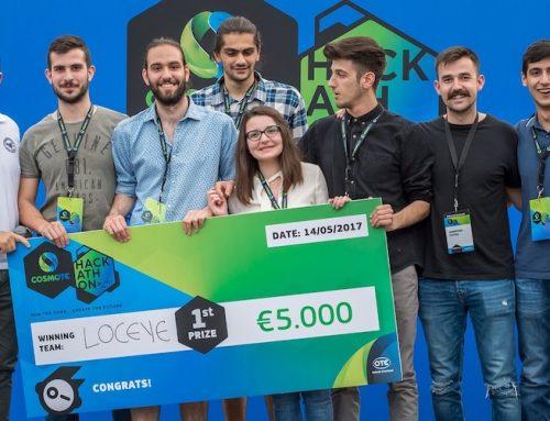 H εφαρμογή Eye Tracking η νικήτρια ιδέα στο Cosmote Hackathon