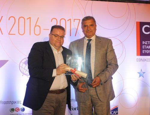 Platinum διάκριση για την Εταιρική Υπευθυνότητα της Wind