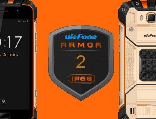 Νέο σκληροτράχηλο μοντέλο Ulefone Armor 2