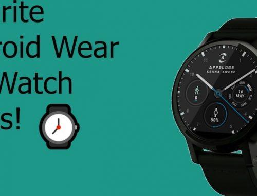 Το Android Wear ανήκει πλέον στα εμπορικά σήματα μόδας