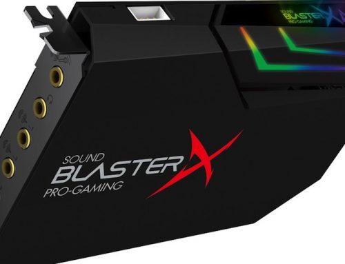 Η Creative παρουσιάζει την ολοκαίνουργια Sound BlasterX AE-5