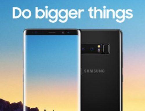 Το Samsung Galaxy Note8 Platinum Χορηγός του #Digitized17