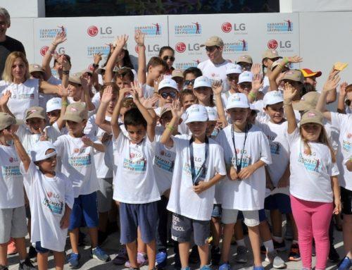 Ολοκληρώθηκαν οι δράσεις της LG στο Spetses Mini Marathon 2017