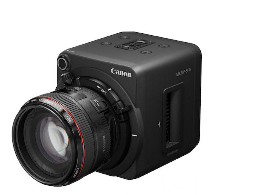 H Canon παρουσιάζει τη δικτυακή κάμερα ME20F-SHN