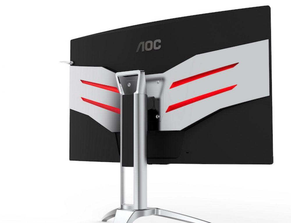 Η ΑOC παρουσιάζει κομψές Full HD και κυρτές QHD οθόνες για τη νέα χρονιά