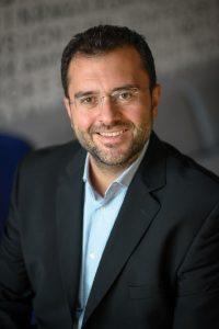 Ο Διευθυντής Μarketing και Operations της Microsoft Ελλάδας, Κύπρου και Μάλτας, Βαγγέλης Μόρφης.