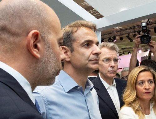 Επίσκεψη του κ. Κυριάκου Μητσοτάκη στο περίπτερο της Google στη ΔΕΘ