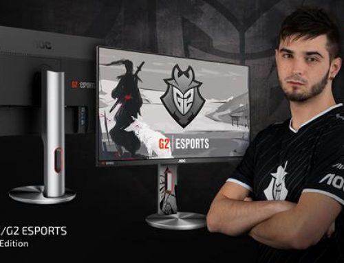Η AOC ανακοινώνει τη νέα G2590PX/G2 -G2 Esports Signature Edition gaming οθόνη