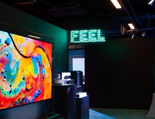 """Η LG παρουσιάζει προηγμένες τεχνολογίες στην έκθεση """"Thanks to Tech"""""""