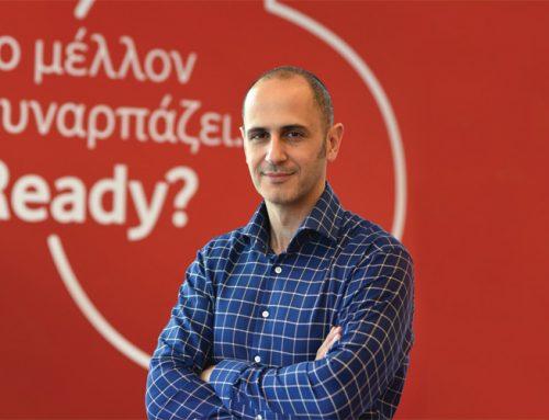Συνέντευξη του εμπορικού διευθυντή καταναλωτικών προϊόντων της Vodafone Ελλάδας, Aρη Γεωργόπουλου