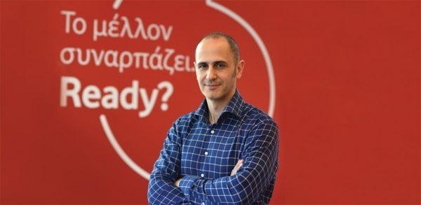 Aρης Γεωργόπουλος, εμπορικός διευθυντής καταναλωτικών προϊόντων της Vodafone Ελλάδας