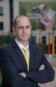 Ο εμπορικός διευθυντής καταναλωτικών προϊόντων της Vodafone Ελλάδας, Aρης Γεωργόπουλος.