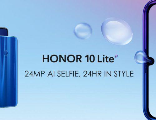 Το Honor 10 Lite πιο προσιτό από ποτέ και με κάμερα για selfie 24 MP AI!