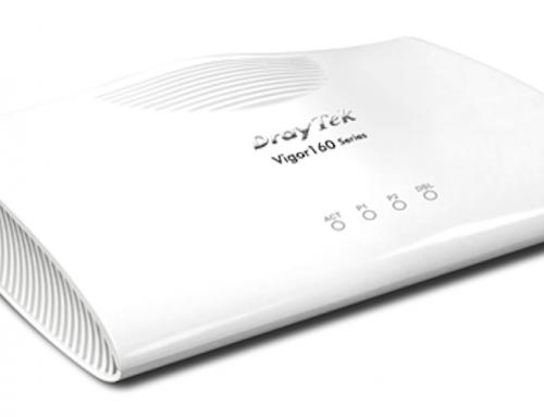 Vigor165: Το νέο modem της DrayTek με υποστήριξη 35b VDSL2 Vectoring είναι εδώ!