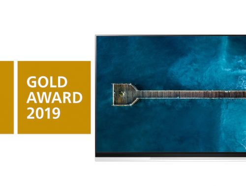 Η LG OLED τηλεόραση διακρίθηκε με το Χρυσό iF Award για την αριστεία στο σχεδιασμό της