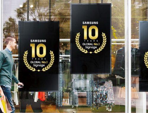 Η Samsung δέκα χρόνια διεθνής ηγέτης στην ψηφιακή σήμανση