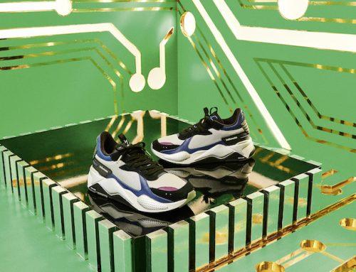 Η PUMA και η MOTOROLA συνεργάζονται για τα ρετρό, εμπνευσμένα από την τεχνολογία, RS-X SNEAKERS