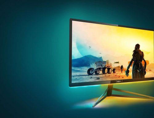 "H MMD λανσάρει την 32"" Philips Momentum για console gaming με οθόνη 4K UHD και Ambiglow"