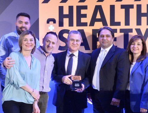 Διπλή Διάκριση για τη Vodafone στα Health & Safety Awards 2019