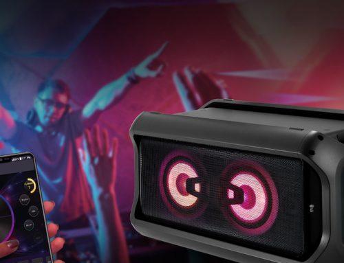 Με τη σειρά ηχείων LG X Boom, το πάρτυ σε ακολουθεί παντού!