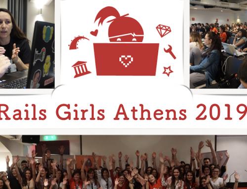 Για 4η συνεχόμενη χρονιά το Rails Girls στην Αθήνα