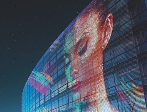 To νέο επαναστατικό LG Transparent Colour LED Film