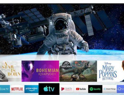 H Samsung προσφέρει Apple TV και AirPlay 2