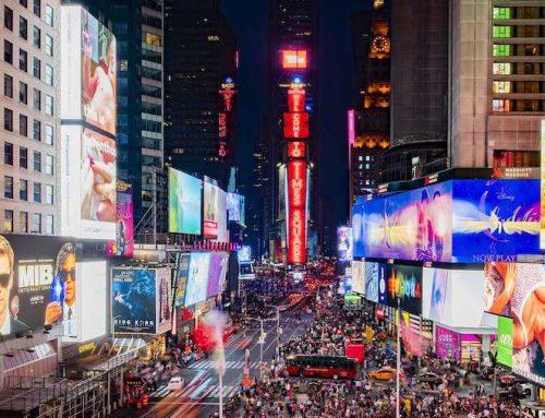 Η Samsung Εγκαθιστά Νέες LED Οθόνες στην Καρδιά της Times Square