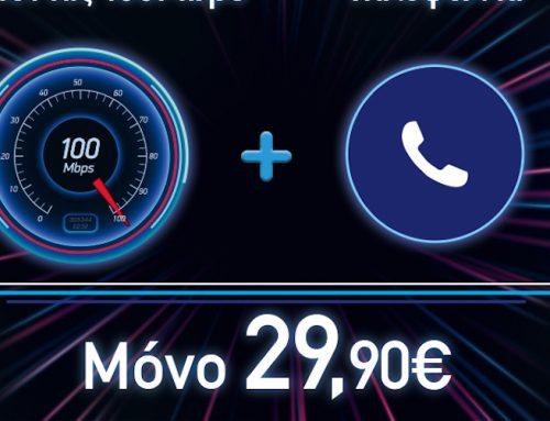 Nova: Τώρα το internet «τρέχει» με 100 Mbps στην καλύτερη προσφορά της αγοράς