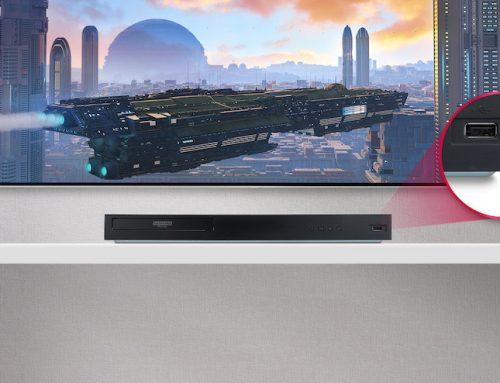 Πιο συναρπαστική και ζωντανή εμπειρία θέασης από ποτέ με το νέο LG Blu-ray player UBK80