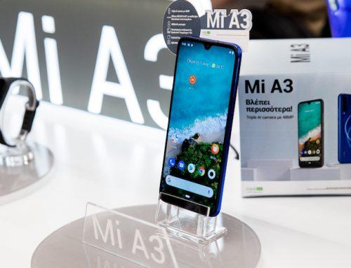 Το νέο Xiaomi Smartphone  Mi A3 και το νέο  Mi Smart Band 4  από την Info Quest Technologies