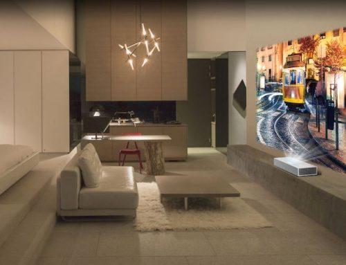Ο LG CineBeam 4K προβολέας φέρει εντυπωσιακή ποιότητα εικόνας και άνεση