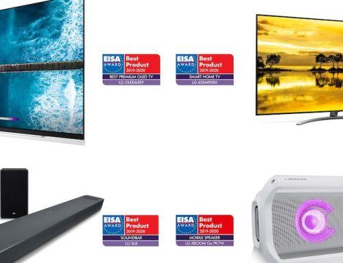 Οι πιο πρόσφατες λύσεις εικόνας και ήχου της LG με τεχνολογία ΑΙ έλαβαν κορυφαίες διακρίσεις