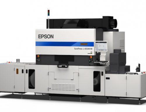 Η τέχνη συναντά την τεχνολογία στο περίπτερο της Epson, στη Labelexpo 2019
